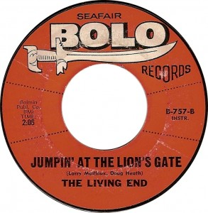 The Living End, Jumpin At the Lions Gate (Bolo B-757-B)