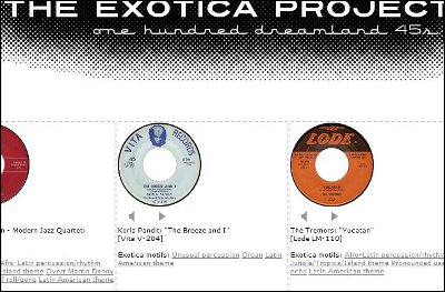 The Exotica Project: 100 Dreamland 45s