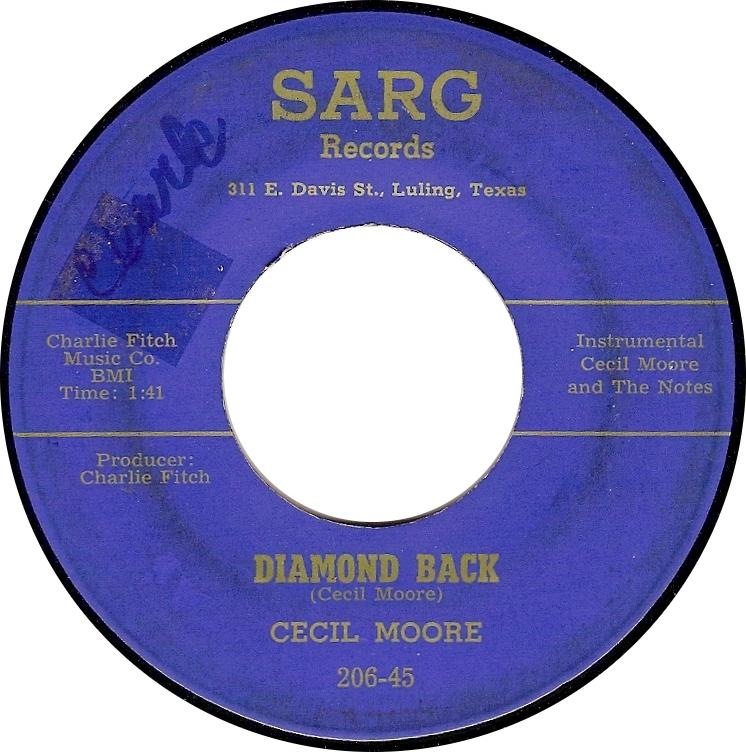 Cecil Moore, Diamond Back (Sarg 206-45)