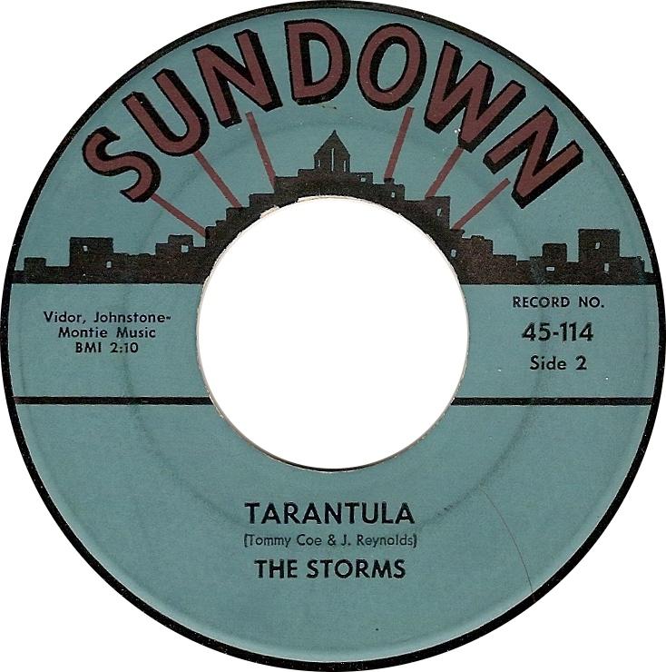 The Storms, Tarantula (Sundown 45-114)