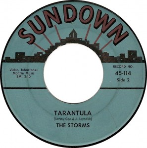 The Storms, Tarantula (Sundown 45-114)