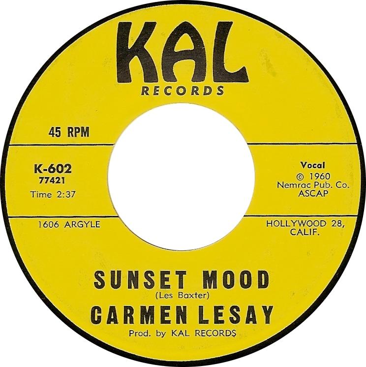 Carmen Lesay, Sunset Mood (Kal K-602)