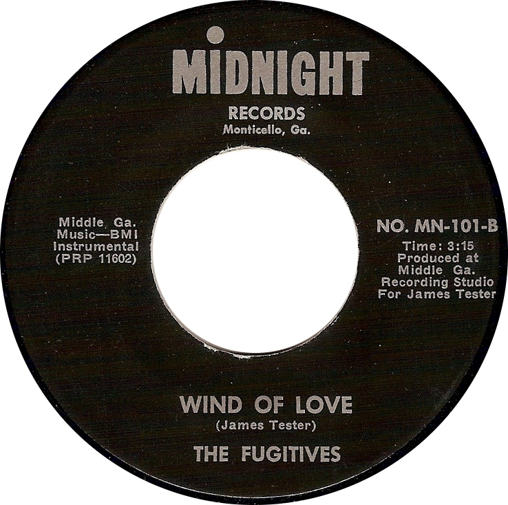 The Fugitives, Wind of Love (Midnight No. MN-101-B)