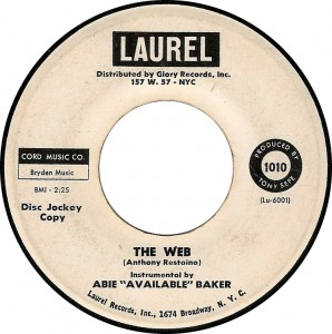 "Abie ""Available"" Baker, The Web (Laurel Lu-6001)"