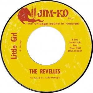 The Revelles, Little Girl (Jim-Ko B-106)