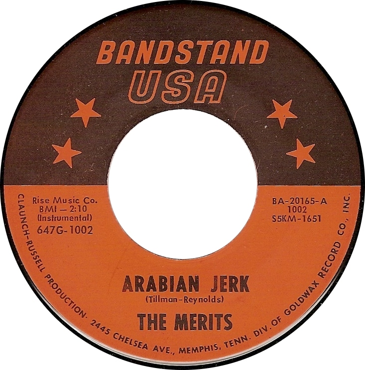 The Merits, Arabian Jerk (Bandstand USA BA-20165-A)