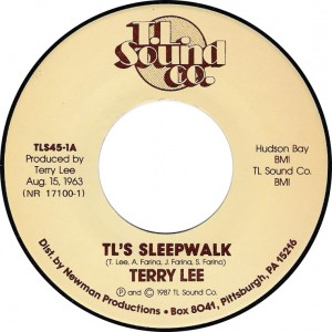 Terry Lee, TL's Sleepwalk (T.L. Sound co. TLS45-1A)