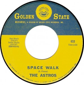 The Astros, Space Walk (Golden State GSR-653-A)