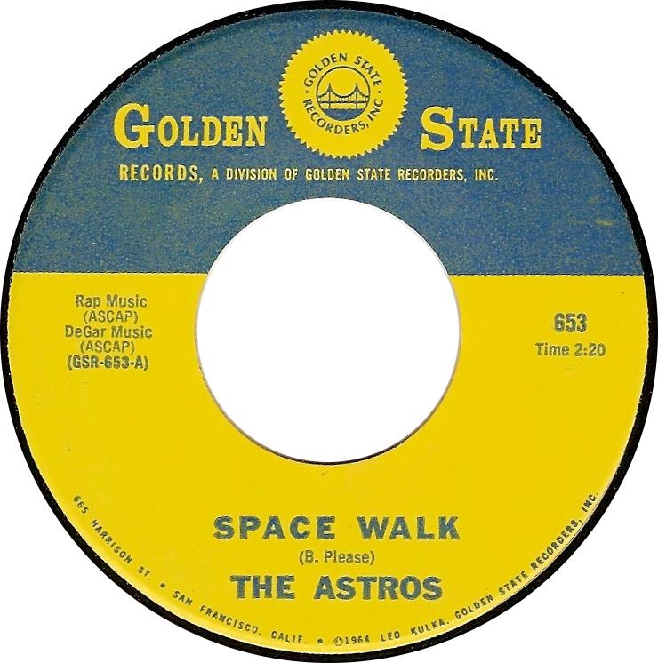 The Astros, Space Walk (Golden State GSR-653-A)