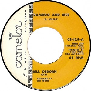 Bill Osborn, Bamboo and Rice (Camelot CS-129-A)