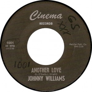 Johnny Williams, Another Love (Cinema 1001)