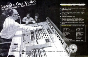 Leo de gar Kulka at Golden State Recorders