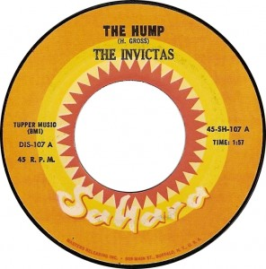 The Invictas, The Hump (Sahara 45-SH-107 A)
