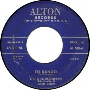 The 4 El-Moroccos, To-bango (Alton 500-A)