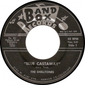 The Shelltones, Blue Castaway (Band Box No. 355)