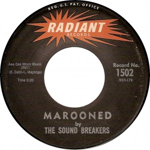 The Sound Breakers, Marooned (Radiant 1502)