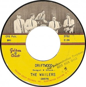 The Wailers, Driftwood (Golden Crest CR375)