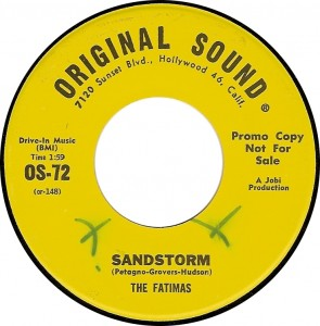 The Fatimas, Sandstorm (Original Sound OS-72)