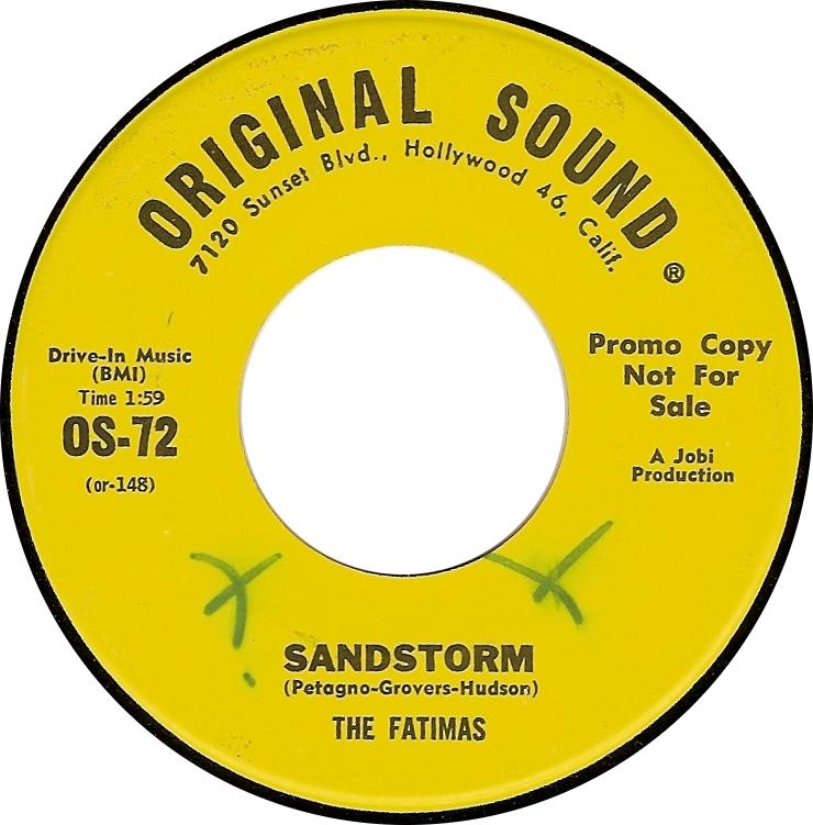 The Fatimas, Sandstorm (Original Sound OS-72)