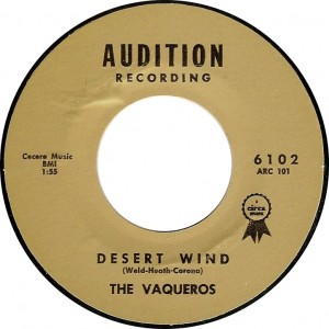 The Vaqueros, Desert Wind (Audition 6102)