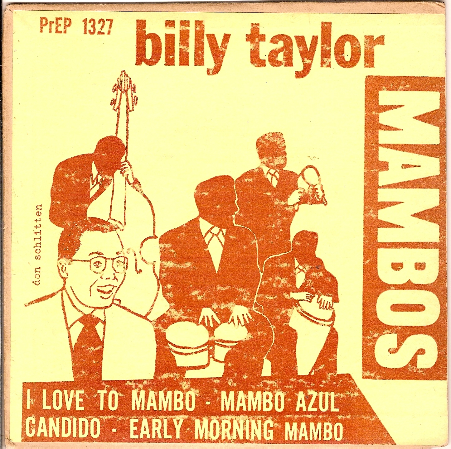 Billy Taylor, Early Morning Mambo (Prestige PrEP 1327, cover)