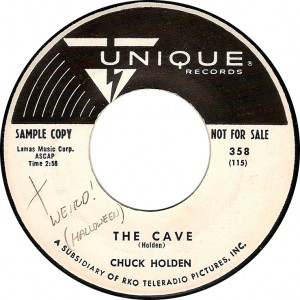 Chuck Holden, The Cave (Unique 358)