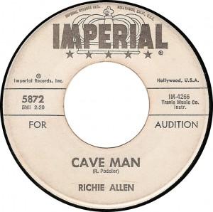 Richie Allen, Cave Man (Imperial 5872)