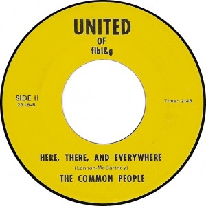 The Common People, Here, There, and Everywhere (United of flbl&g 2318-8)