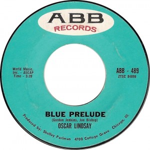 Oscar Lindsay, Blue Prelude (ABB  489)