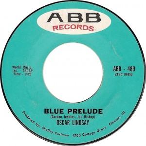 Oscar Lindsay, Blue Prelude (ABB – 489)