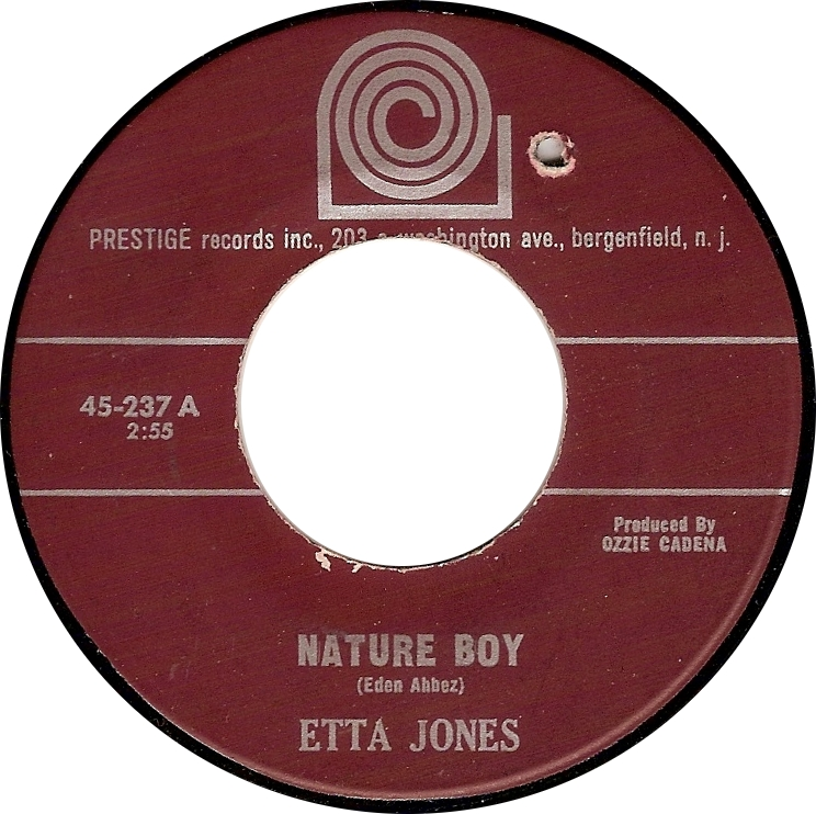 Etta Jones, Nature Boy (Prestige 45-237A)