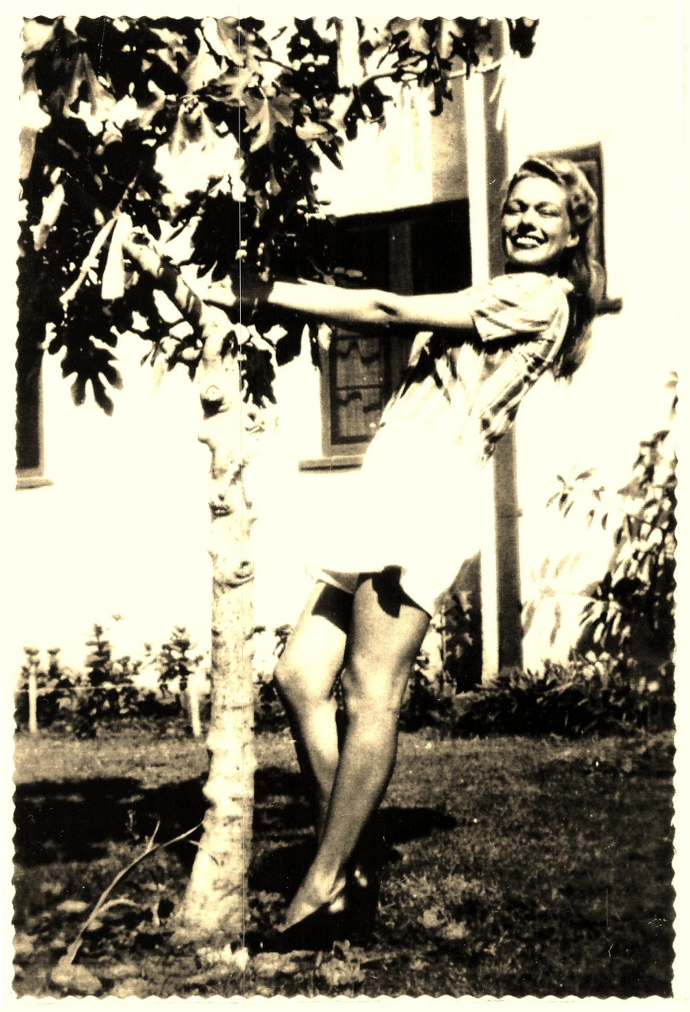 Jeri Simpson in California, circa 1948 or 1950