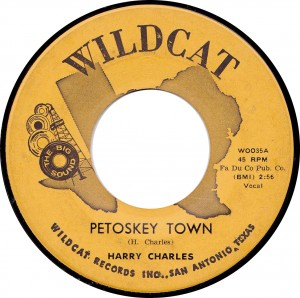 Harry Charles, Petoskey Town (Wildcat WOO35A)