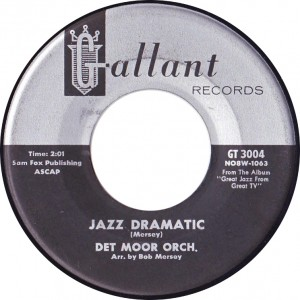 "Det Moor Orch., ""Jazz Dramatic"" (Gallant GT-3004)"