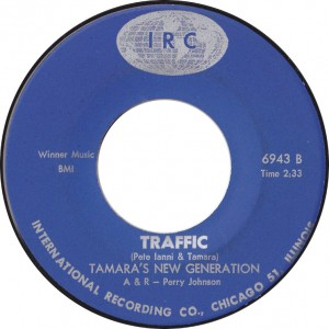 Tamara's New Generation, Traffic (IRC 6943B)