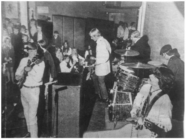 The Plum Beach Incident playing the Knights of Columbus hall in 1968