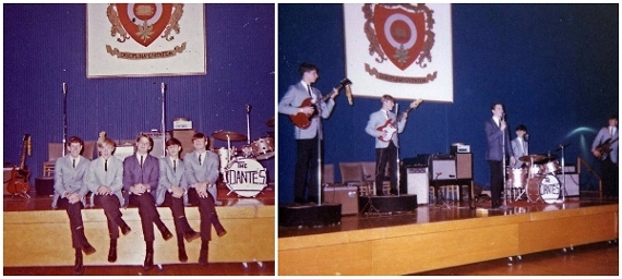 The early version of the Dantes.  Playing at Ohio State University, circa 1964.