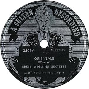 """Eddie Wiggins's """"Orientale"""""""
