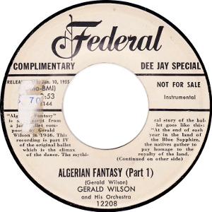 Gerald Wilson, Algerian Fantasy