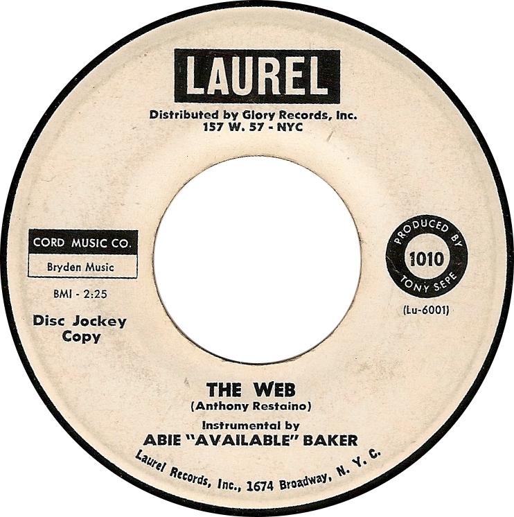 """Abie """"Available"""" Baker, The Web (Laurel Lu-6001)"""