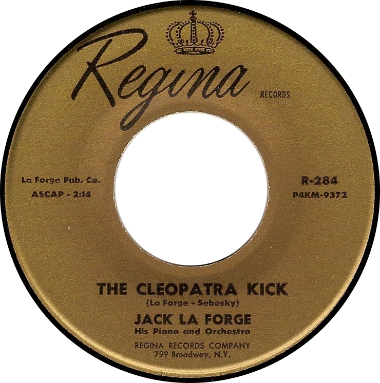 Jack La Forge, The Cleopatra Kick (Regina R-284)