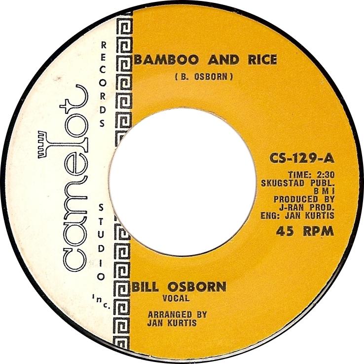 Bill Osborn, Bamboo and Rice (Camelot CS-129-A)